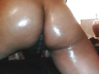 Oiled ms booty red...