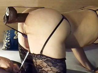 girlfriend  her stuffs sissy's holes