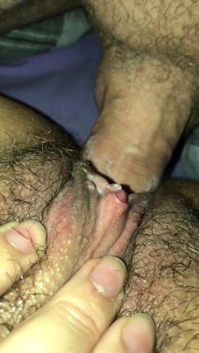 Close up hot penetration
