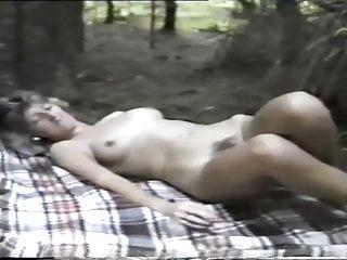 Jean in woods