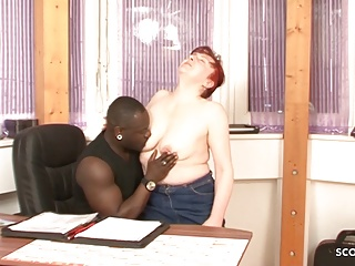 redhead mature seduce black boy to fuck - german vintagePorn Videos