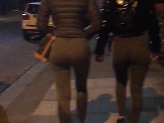 Two sexy juicy ass gym booties...