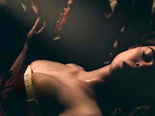 Elle Fanning Sexy Cleavage Scene On ScandalPlanet.Com