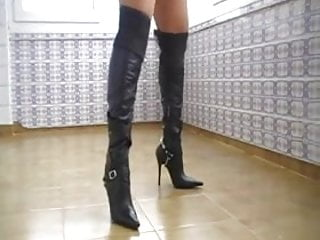 My Leather Boots & Whip