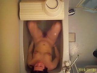 Asian shower spy