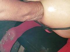 Elbow deep at sawmill