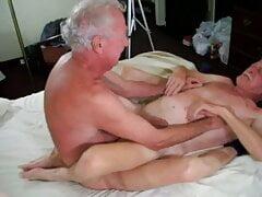 Handsome grandpa enjoy tick cock in his ass 2