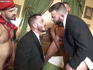 Uniformed Orgy