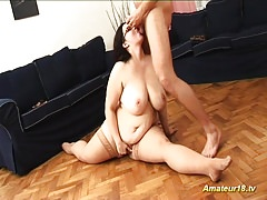 fat extreme flexible house wife fucked
