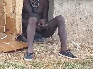 Horny homeless dude