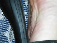fucking with shoes and toes  mule job  shoe job  sandals jobPorn Videos