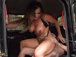 Aussie body builder Aubrey Black gets her big tits