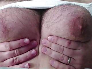 massive manboobs jiggle and bounce