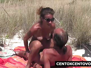 Gang Bang in spiaggia Che culo Valentina CentoXCento