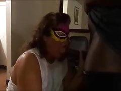 Cheating Wife Paminwa milking black cock