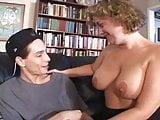 BBW Blonde Milf Seduces Young Guy