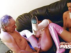 Chicks Kit And Kat Lee in Hot 4k Orgy