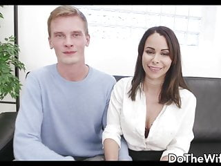 Shy German Wife Jessy Jey Kisses Cuckold After Eating Cum
