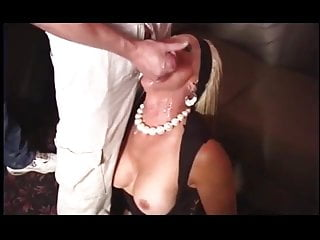 mature martha in filthy gangbang cumfest slut