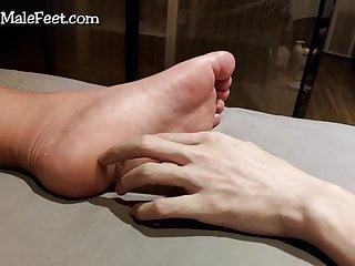 Tickle amp massage my boyfriend 039 smelly...