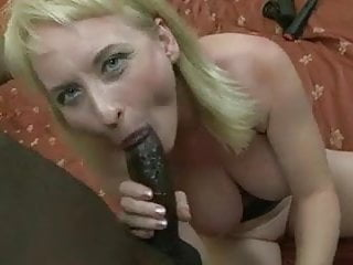 Pretty milf whith pink skin loves and black...