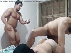 Couple enjoying sex