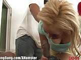 DevilsGangbangs Tiny Blonde and 3 BBCs