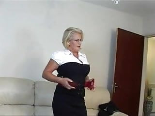 Busty And Horny Mature