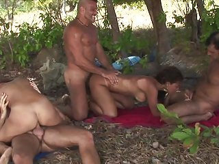 Two Anal 3 Result: Women Gangbang Dudes Across Come