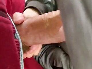 German twink sucks big dick at Cruising Park