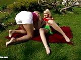 Strawberry Seduction by Sapphic Erotica - lesbian love porn
