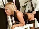 Office Gangbang with Silvia