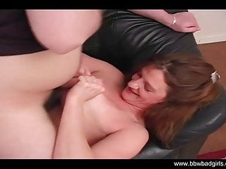 Boobs in living room is fun for her...