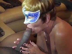 The slut wife being filmed by her husband