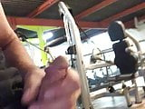 Flashing Dick in the gym
