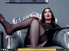 camgirl model Audrey Dias on 5 april, 2021