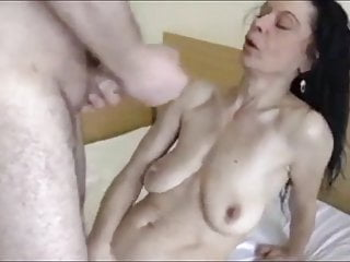 Small horny milf woman basks in rough sex with fresh boss
