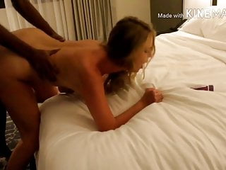 Vegas Hotwife fucks and cums with BBC in hotel