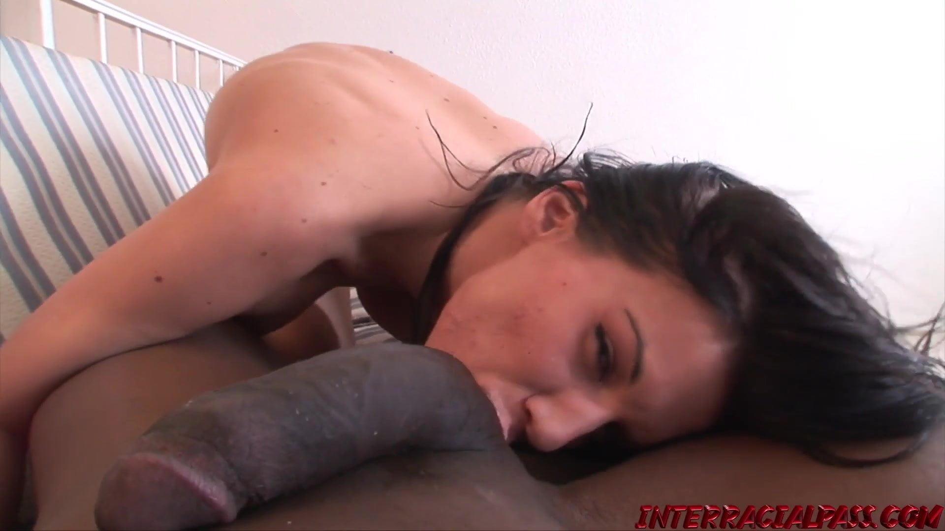 Karina sucks out every last drop of BBC cum
