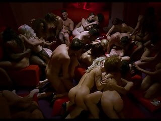 orgy in movie