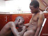 Black Africans Pias and Vincent Bareback