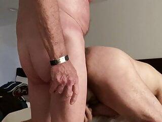 Boy spreads for Grandpa 2 Bare!
