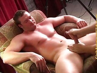 EDGING A STR8 JOCK UNTIL HE CAN'T TAKE IT ANYMORE