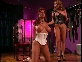 2 chicks into bondage bdsm and lesbian action...