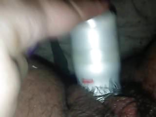 masturbation with a can