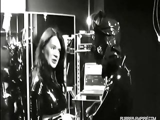 German Bdsm Femdom video: Lady Isis  - Seven the Rubber Hole