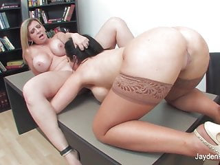 Jayden jaymes gets it on with her boss...