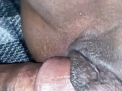Co-worker wanted a creampie in the car afterwork