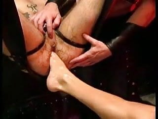 Fist dogs leather dungeon fetish...