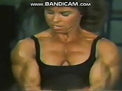 J Raigan workout in black one piece